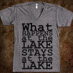 Lake Living - Summer time. :) - Skreened T-shirts, Organic Shirts, Hoodies, Kids Tees, Baby One-Pieces and Tote Bags Custom T-Shirts, Organic Shirts, Hoodies, Novelty Gifts, Kids Apparel, Baby One-Pieces | Skreened - Ethical Custom Apparel n