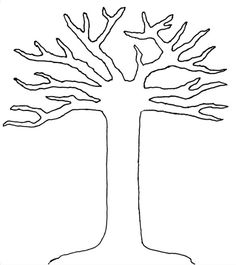 The Giving Thanks Tree Template