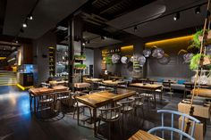 The new restaurant EAST is located in the historical center of Kiev. Once there was Porto Maltese fish restaurant which was famous for the quality of food an...