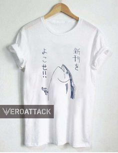japanese fish T Shirt Size XS,S,M,L,XL,2XL,3XL