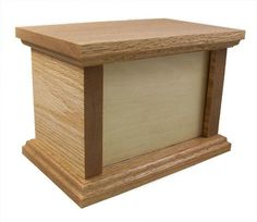 Solid Oak Pet Urn - Photo Series - 65 Cubic Inch Capacity * Don& get left behind, see this great dog product : Dog Memorials Animal Rescue League, Pet Urns, Dog Training Pads, Dog Food Storage, Dog Shower, Dog Chew Toys, Dog Shedding, Dog Eyes, Dog Diapers