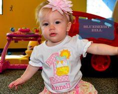 1st 2nd 3rd 4th 5th Birthday Girl Lemonade Birthday Shirt - Lemonade Stand Birthday Shirt - Lemonade and Sunshine Shirt