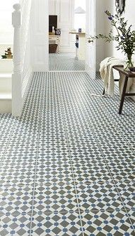 Topps Tiles Victorian tile for the hallway