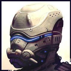 Cyborg ID by Hideyoshi.deviantart.com on @deviantART