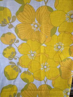 60s vintage mod retro fabric. Made in Sweden by Inspiria on Etsy
