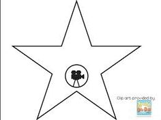blank hollywood star template google search parties pinterest