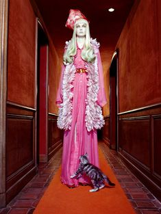 """""""The Vagaries of Fashion"""" by Miles Aldridge for Vogue Italia May 2008"""