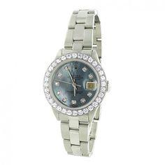 4a385d739ebf Ladies Rolex Datejust Custom Diamond Watch 2.70ct