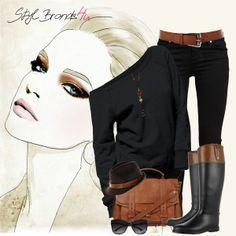 Dámy jednoduchý a elegantný outfit ... :) Páči ... :) #brands4u #outfit #fashion