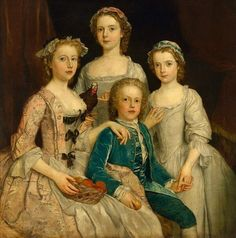 18th century paintings with dolls - Google Search