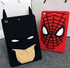 Fall in love with this Apple iPad mini 1 / 2 / 3 Batman Spider-Man Luxury Soft Silicon Case, fashion & cute! Cute Ipad Cases, Spiderman, Batman, Ipad Mini, Reusable Tote Bags, Cartoon, Luxury, Cover, Apple Ipad