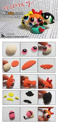 Fimo You are in the right place about Polymer Clay Crafts videos Here we offer you the most beautiful pictures about the Polymer Clay Crafts kawaii you are looking for. When you examine the Fimo part Diy Fimo, Fimo Clay, Polymer Clay Projects, Polymer Clay Charms, Polymer Clay Creations, Polymer Clay Art, Polymer Clay Jewelry, Clay Crafts, Jumping Clay