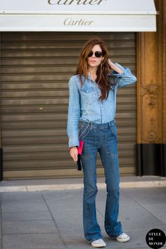 Stephanie LaCava Street Style Street Fashion Streetsnaps by STYLEDUMONDE Street Style Fashion Photography