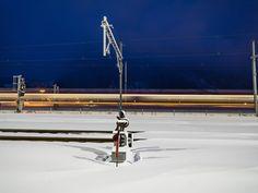 Photo by Erik Süsskind - Photo 137046747 - Davos, Chur, Locomotive, Utility Pole, Trains, Locs, Train
