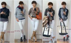 大人の女性のホワイトデニムコーデ | 服を変えれば、生き方が輝く!私がはじまるファッションコーデ