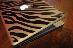 Zebra print computer