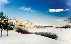 Seaham Hall in the Snow