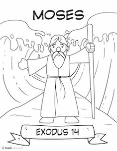 Bible Heroes Cut and Color Craft Pack — Teach Sunday School Sunday School Crafts For Kids, Bible School Crafts, Bible Crafts For Kids, Bible Study For Kids, Sunday School Activities, Sunday School Lessons, Preschool Bible Lessons, Bible Activities, Bible Coloring Pages