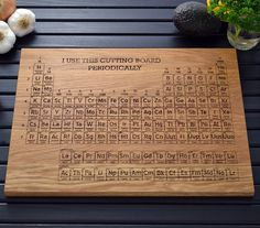 """I use this cutting board periodically"" ...a geek kitchen essential!"