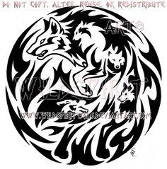 Emotion Wolf Flame Medallion Design by WildSpiritWolf.deviantart.com on @DeviantArt