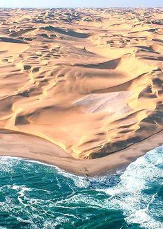 Namibia, where Desert meets Ocean www.lafrenkitravel.com