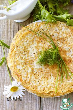 Блины из сырого картофеля - кулинарный рецепт