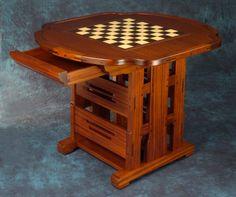 Greene & Greene Style Chess Board