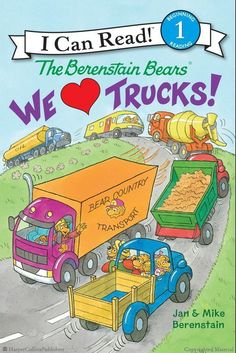 The Berenstain Bears: We Love Trucks! by Jan Berenstain and Mike Berenstain