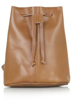 Topshop - Mini Leather Backpack