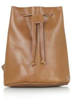Topshop - Mini Leather Backpack