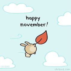 I hope it's filled with cute bunnies floating on leaves. :D Fall-colored leaves! Be a friend of Chibird on Patreon! Every little contribution helps give me the time and energy to continue drawing Chibird!