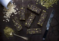 raw hemp granola bars