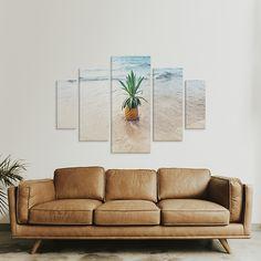 c6763a27f Kit de Quadros Decorativos em Canvas 5 Telas 100x160cm - On The Wall  Quadros Personalizados