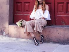 La blogger #Donkeycool apuesta por unas #sandalias #romanas para un look #boho genial
