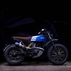 Digging this funky, go-anywhere TW200 from Australia's Lanesplitter Garage.