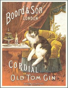 Винтажные открытки с котами ...