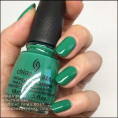China Glaze Emerald Bae