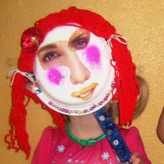 Fun paper plate masks to make with the kids! - possible sunglasses! #masks #sunglasses fun