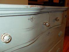 Annie sloan Duck egg, painted antique dresser