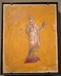 Talía, Musa de la comedia Pompeya (Italia) 62-79 dC