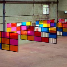 art   installations / Daniel Buren