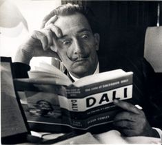Biography  A photograph of the Spanish artist Salvador Dali, taken by Terry Fincher for the Daily Herald newspaper.