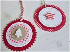 Weihnachtliche Geschenkanhänger..........