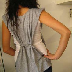 side slit blouse DIY @Maslinda Designs