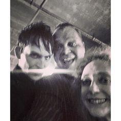 """Oswald/Butch/Gertrude selfie"""