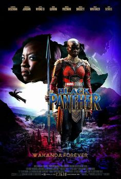 Black Panther (February 16, 2018)  a superhero film based on Jack Kirby, Stan Lee Marvel Comics. Directed by Ryan Coogler. Produced by Kevin Feige. Stars: Chadwick Boseman, Michael B. Jordan, Lupita Nyong'o, Danai Gurira, Martin Freeman, Daniel Kaluuya, Letitia Wright, Winston Duke, Angela Bassett, Forest Whitaker, Andy Serkis. T'Challa returns to Wakanda, two enemies conspire to bring down the kingdom. He teams up, as Black Panther, with CIA agent Ross, Dora Milaje team, to prevent a world…