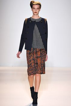 Lela Rose F/W 2012  The whole collection is perfection.