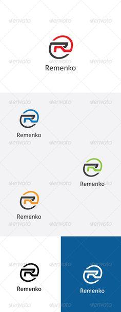 R Letter Logo Template. #GraphicRiver