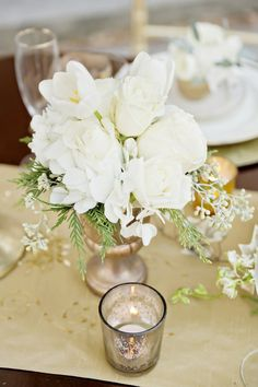 Gold Ideas: Georgia Wedding Inspiration Shoot - MODwedding