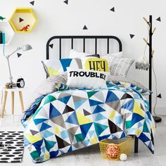 Adairs Kids Concord - Bedroom Quilt Covers & Coverlets - Adairs Kids online
